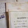 Manoscritto originale di Corrado Perissino - foto di Luigi Burroni